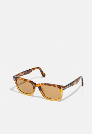 UNISEX - Sunglasses - coloured havana/brown