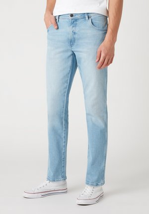TEXAS - Jeans straight leg - clear blue