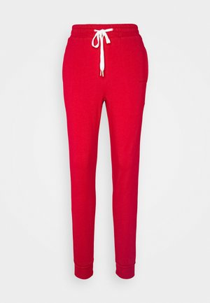JOGGER - Tracksuit bottoms - chilli