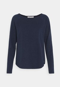 TOM TAILOR DENIM - RAGLAN - Maglietta a manica lunga - real navy blue - 0