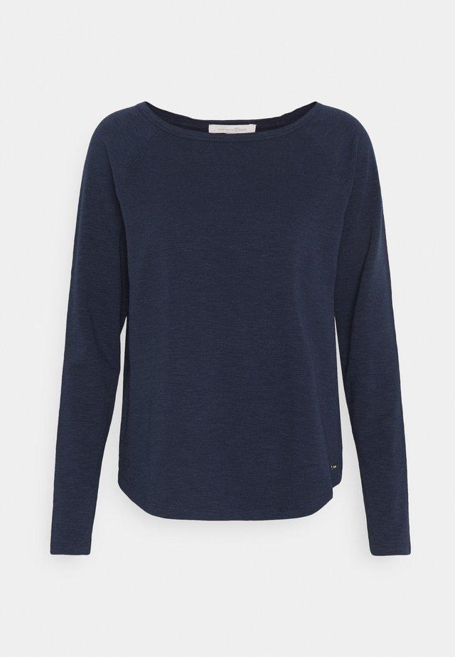 RAGLAN - Long sleeved top - real navy blue