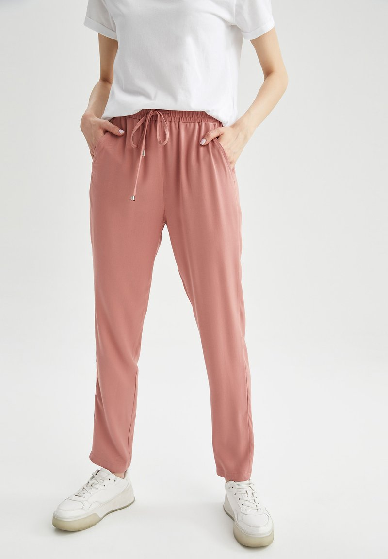 DeFacto - Trousers - light pink