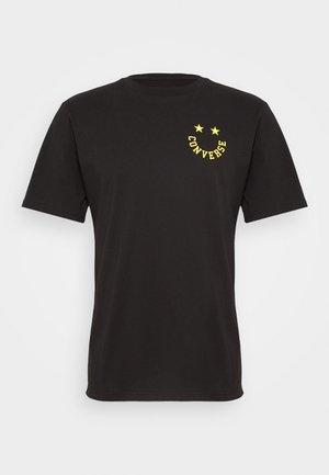 TEE - T-shirt con stampa - converse black