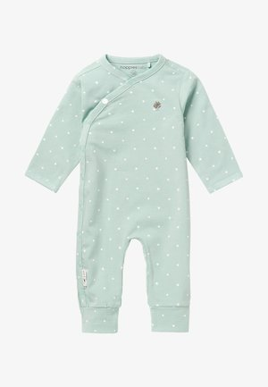 LOU - Sleep suit - grey mint
