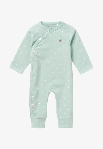LOU - Sleep suit - grey mint
