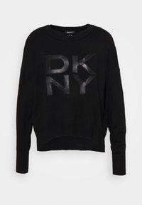 DKNY - LOGO - Jumper - black - 0