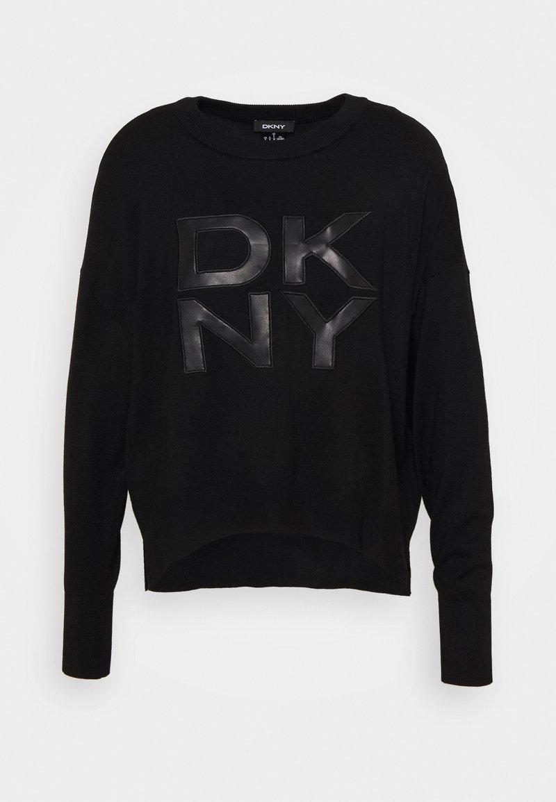 DKNY - LOGO - Jumper - black