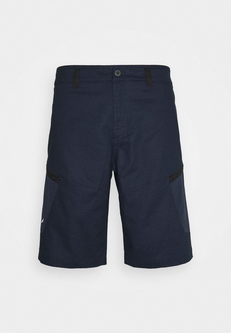 Salewa - ALPINE - Outdoorové kraťasy - navy blazer