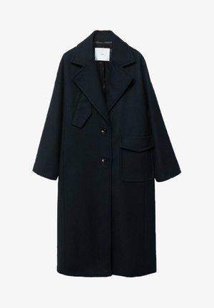 POCKET - Classic coat - night blue