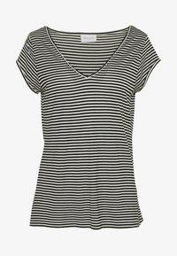 VISCOOP  - Basic T-shirt - black/optical snow