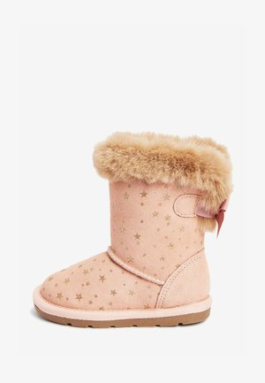 PULL-ON - Winter boots - pink