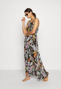 O'Neill - CLARISSE STRAPPY DRESS - Doplňky na pláž - green/white/pink or purple - 1