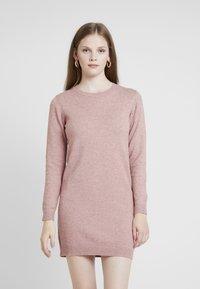 JDY - JDYMARCO DRESS - Strikket kjole - polignac/melange - 0