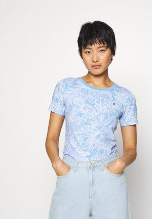 ESSENTIAL ROUND - T-shirts print -  light iris blue