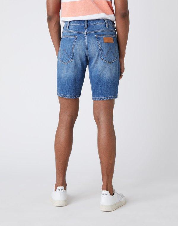 Wrangler 5 PKT SHORT - Szorty jeansowe - light fever/ciemnoniebieski Odzież Męska ONCD
