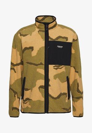 HEARTH - Fleece jacket - beige