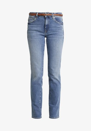 DARIA - Jeans straight leg - used brushed 90's stretch