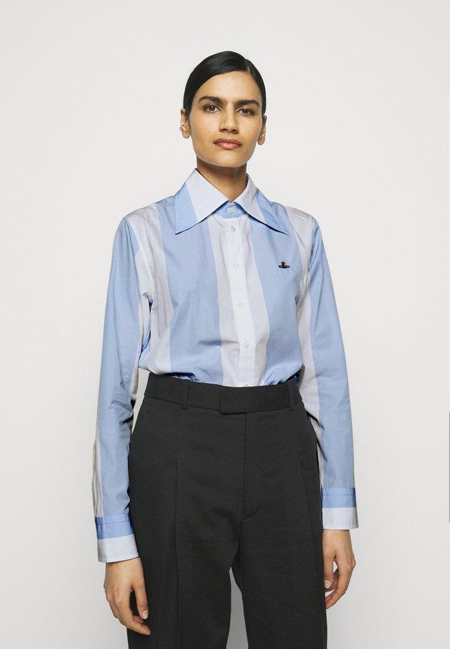PIANIST - Button-down blouse - cielo