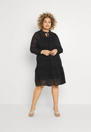CARPINAROS KNEE DRESS - Day dress - black