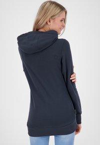 alife & kickin - Zip-up hoodie - marine - 2