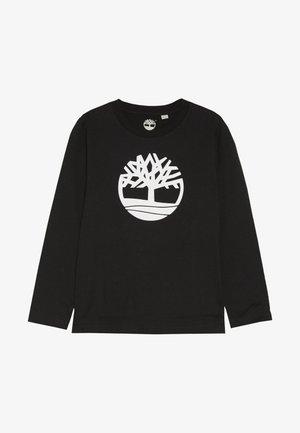 Langærmede T-shirts - schwarz