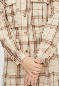Pieces - Button-down blouse - white pepper - 4