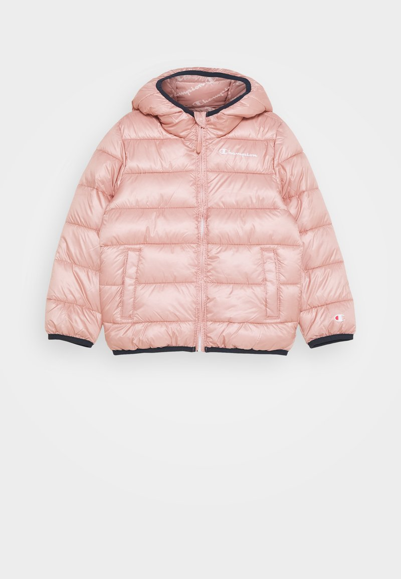 Champion - LEGACY OUTDOOR HOODED JACKET UNISEX - Zimní bunda - light pink