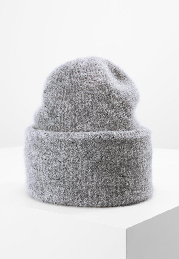 Samsøe Samsøe - NOR HAT - Mössa - grey melange