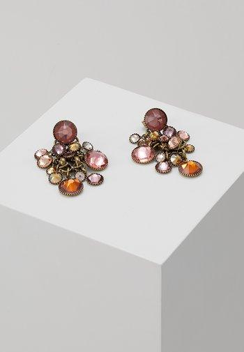 WATERFALLS - Earrings - beige/pink