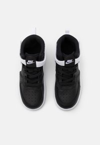 Nike Sportswear - COURT BOROUGH MID UNISEX - Sneakers hoog - black/white - 3