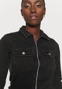 ONLY Tall - ONLINC CALLI ZIP  - Jumpsuit - black denim - 3