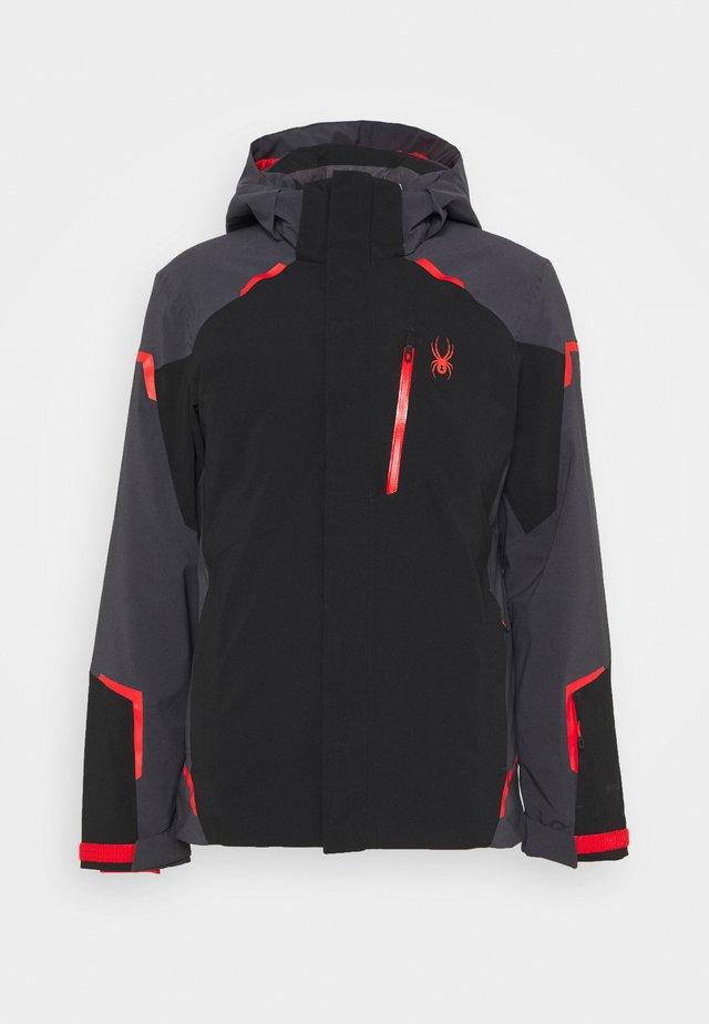 COPPER - Snowboard jacket - black