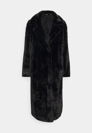 LONG COAT - Wollmantel/klassischer Mantel - black