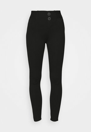SEBASTIANA - Leggings - Trousers - jet black