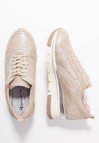 Tamaris Pure Relax - LACE-UP - Sneakers laag - champagne - 3