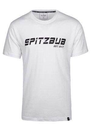 JULIAN - T-shirt print - weiß
