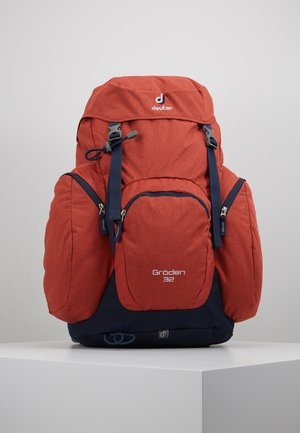 GRÖDEN 32 - Backpack - lava/navy