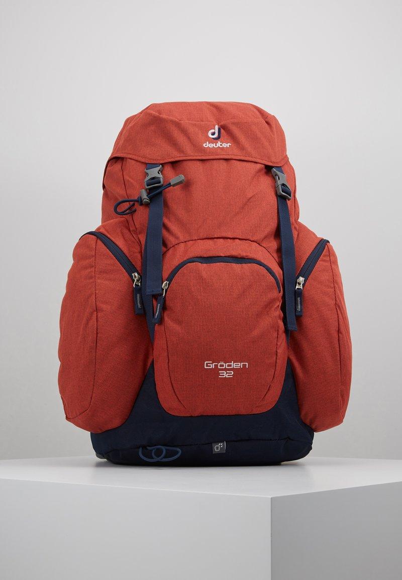Deuter - GRÖDEN 32 - Backpack - lava/navy