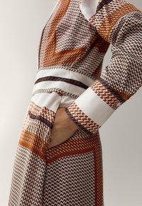 Massimo Dutti - Robe longue - orange - 5