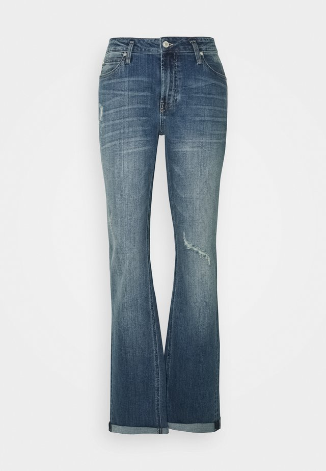FREJA - Džíny Straight Fit - denim blue