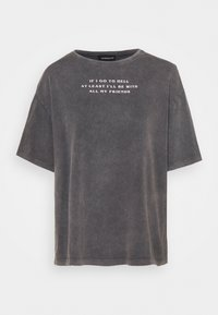 Even&Odd - T-shirt con stampa - black - 0