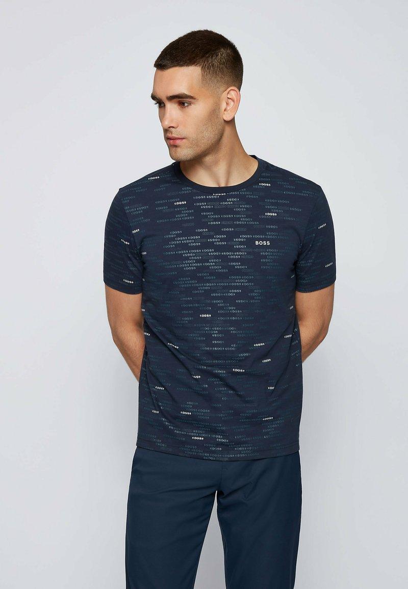 BOSS - TEE - Basic T-shirt - dark blue