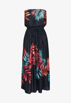 PULL-ON BANDEAU - Day dress - black