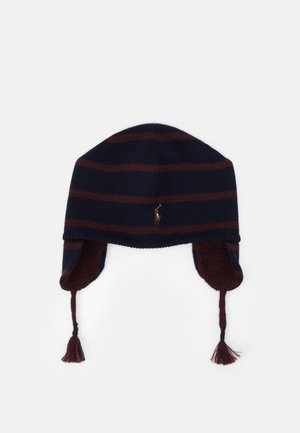 EAR FLAP APPAREL ACCESSORIES HAT UNISEX - Čepice - navy