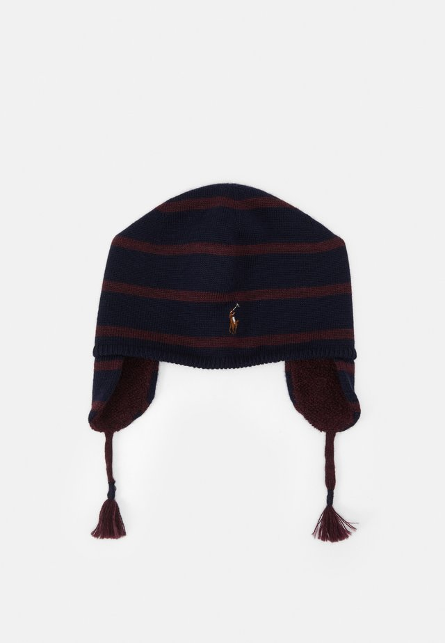 EAR FLAP APPAREL ACCESSORIES HAT UNISEX - Mütze - navy