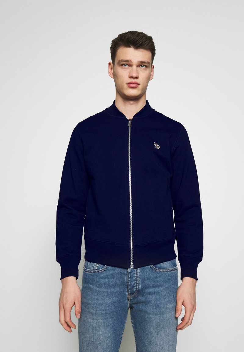 PS Paul Smith - BOMBER JACKET - Zip-up hoodie - navy