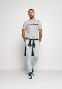 Diadora - CUFF PANTS CORE LIGHT - Træningsbukser - light middle grey melange - 1