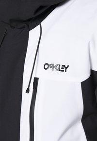 Oakley - Snowboard jacket - black/white - 7