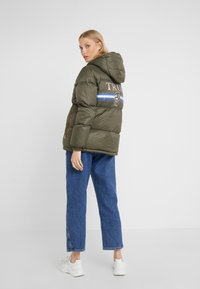 True Religion - JACKET MILITARY - Kurtka puchowa - dark green