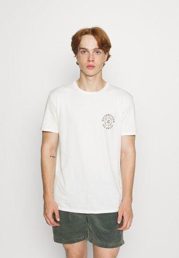 CAUTIONARY TALE - Print T-shirt - antique white
